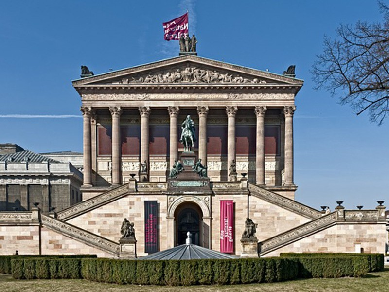 day 2 berlin museum building old national gallery art