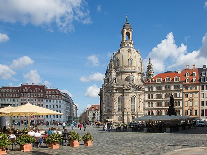 day 4 dresden frauenkirche church germany old town